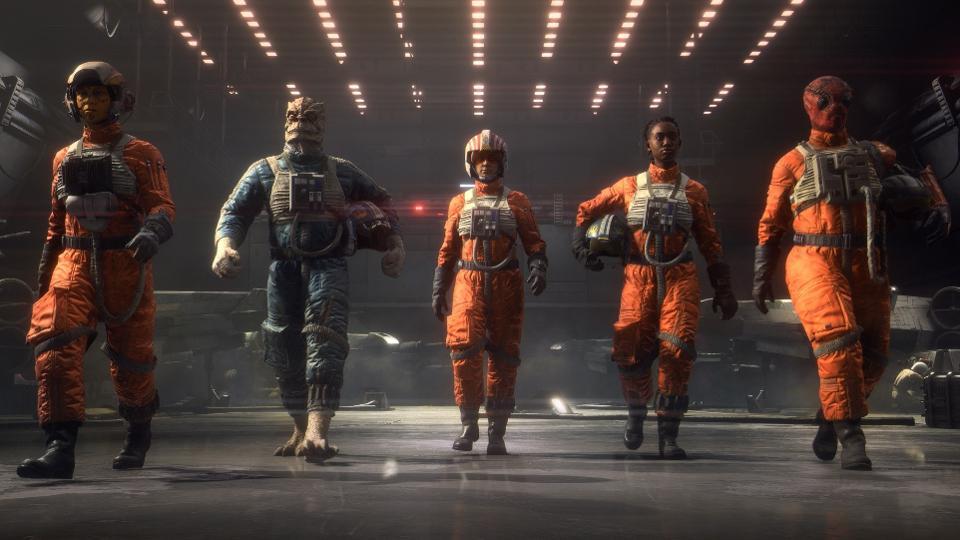 EA Motive Drops Trailer for Star Wars: Squadrons