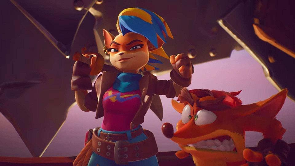 Crash Bandicoot 4 Reveals Gameplay for Tawna