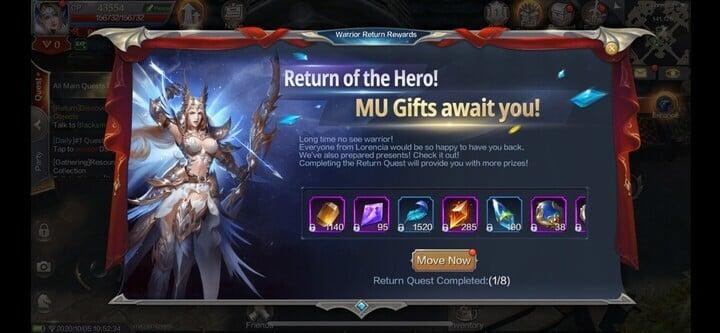 MU Origins 2 Rewards Returning Players in Special Event