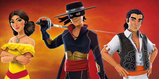 The Masked Zorro Returns in Trailer for Zorro The Chronicles, The Game
