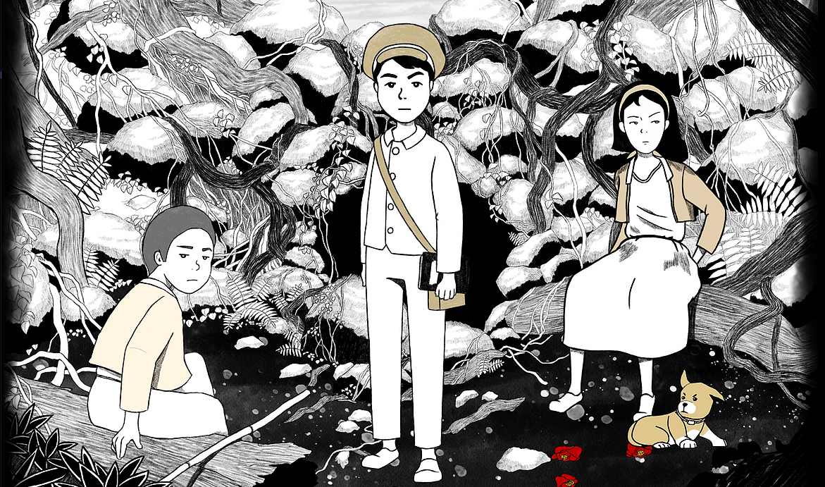 Get Into the Beautiful Hand-Drawn World of Unfolded: Camellia Tales