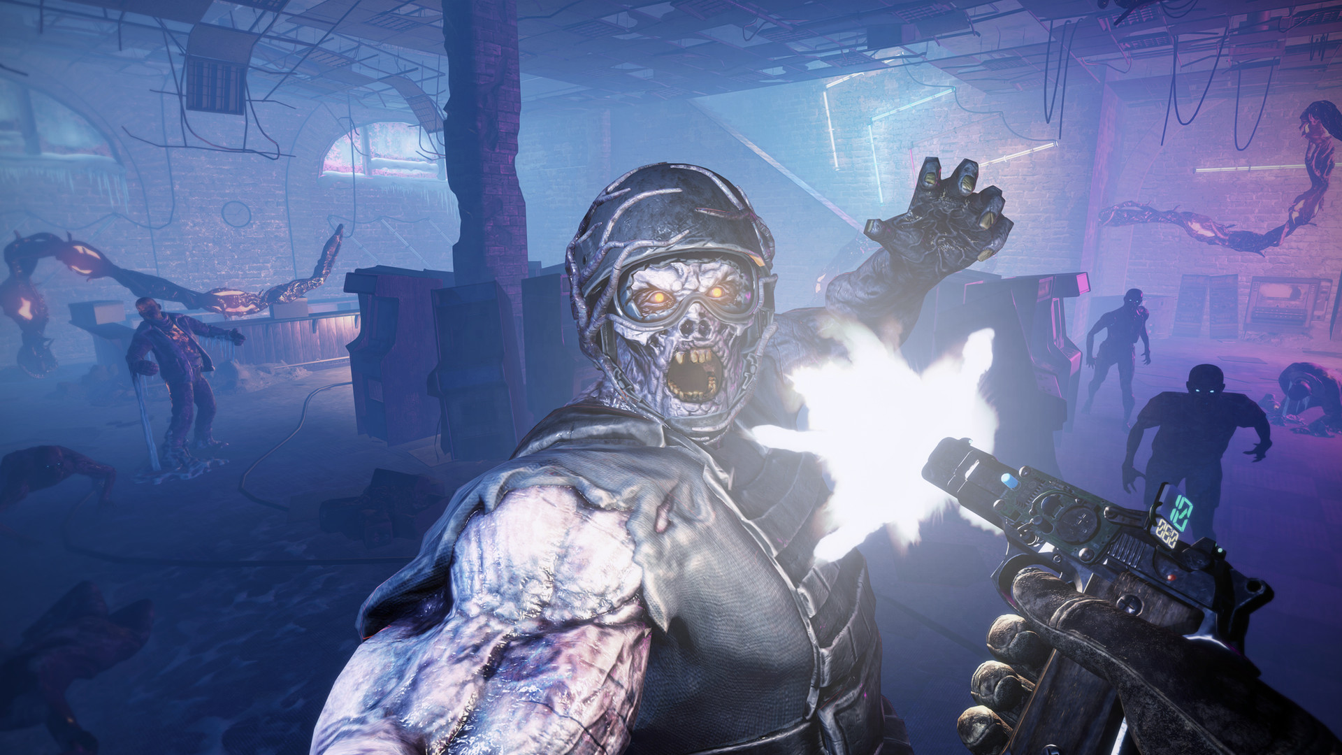 Gets Your First Look at the Zombie VR Shooter, After the Fall