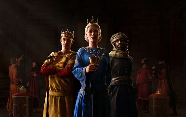 Crusader Kings III Announces Upcoming Expansion: Royal Court