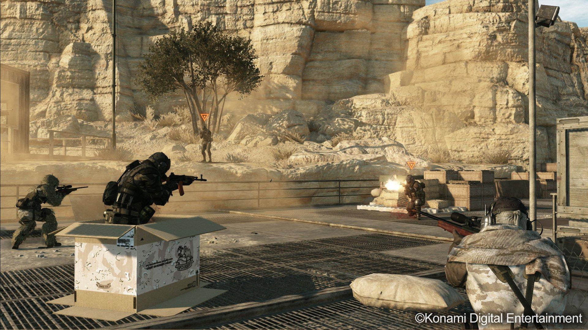 Metal Gear Solid V: Metal Gear Online for PS3 screenshot