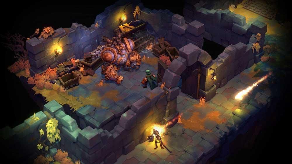 Battle Chasers: Nightwar for Switch screenshot