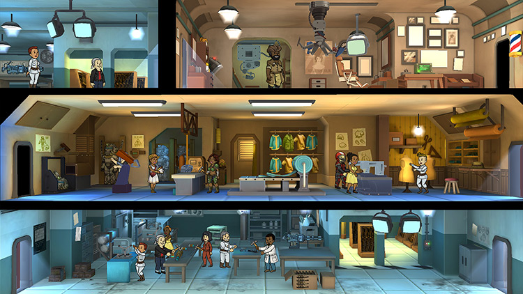 Fallout Shelter for Switch screenshot