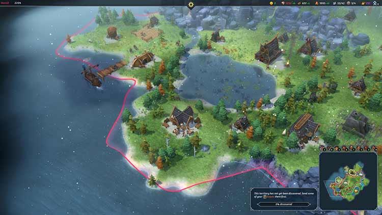 Northgard for PC screenshot
