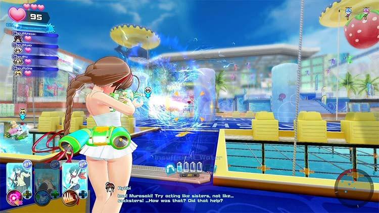 Senran Kagura: Peach Beach Splash for PC screenshot