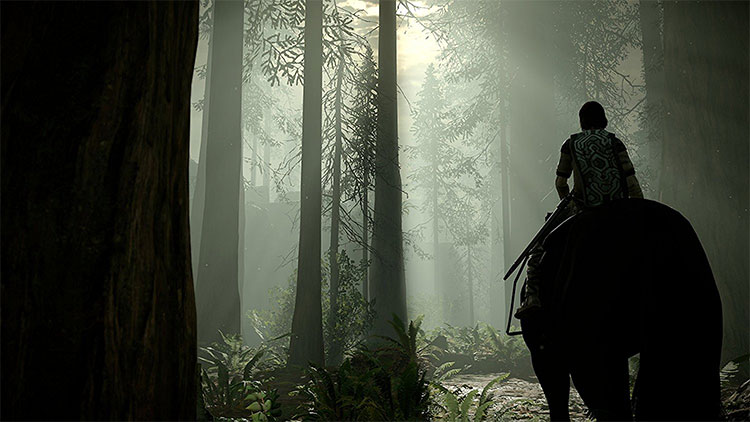 Shadow of the Colossus for PS4 screenshot