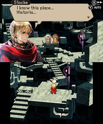 Radiant Historia: Perfect Chronology for 3DS screenshot