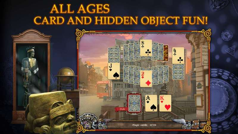 Solitaire Mystery: Stolen Power for PC screenshot