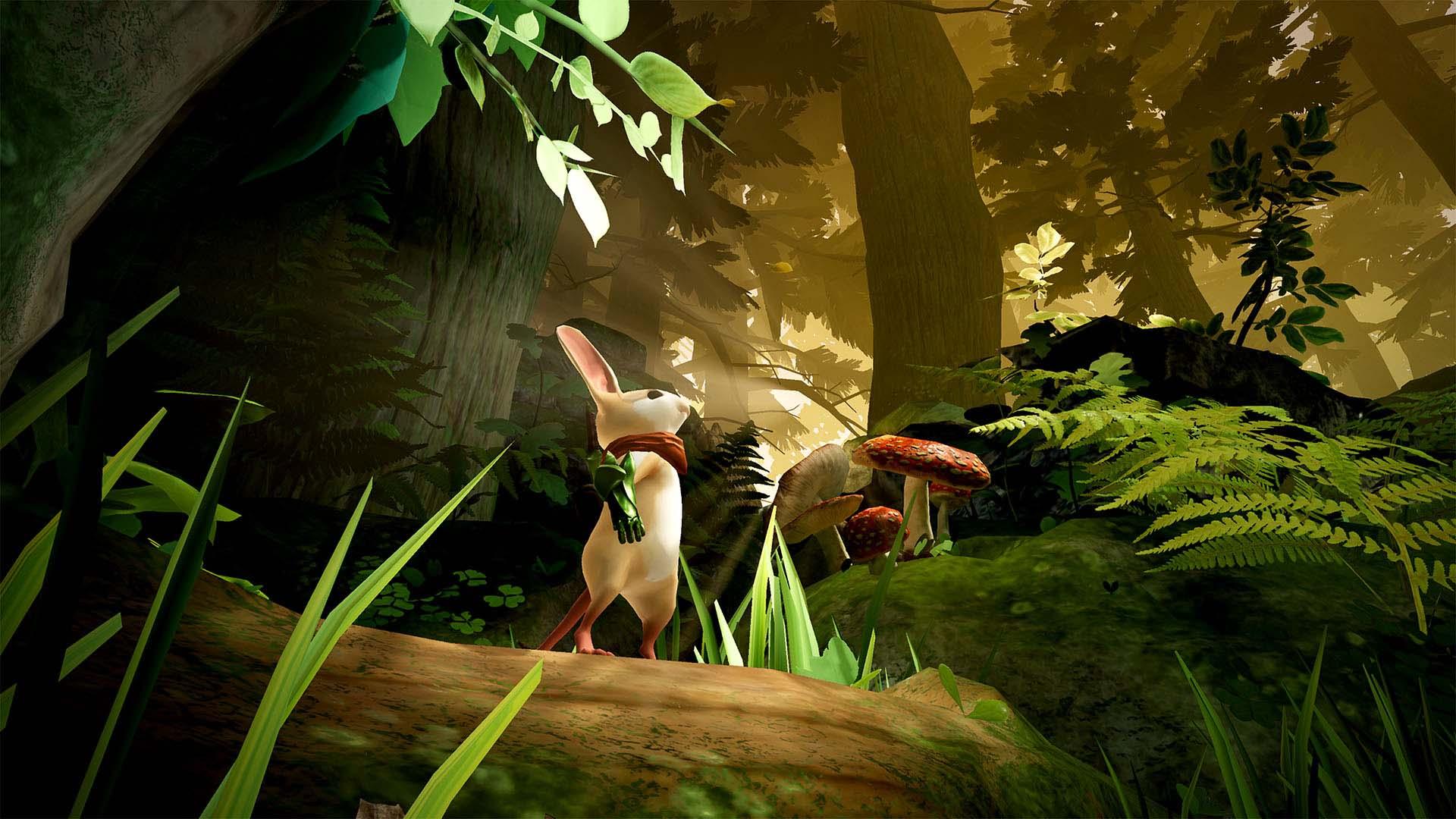 Moss for PS4 screenshot