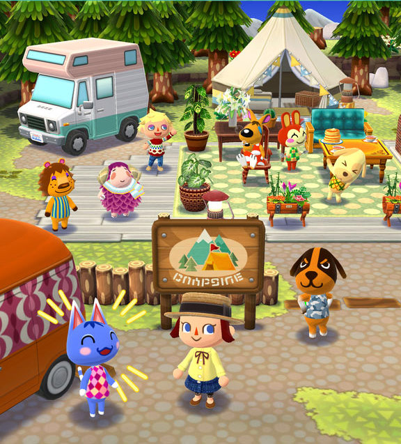 Animal Crossing: Pocket Camp for iOS screenshot