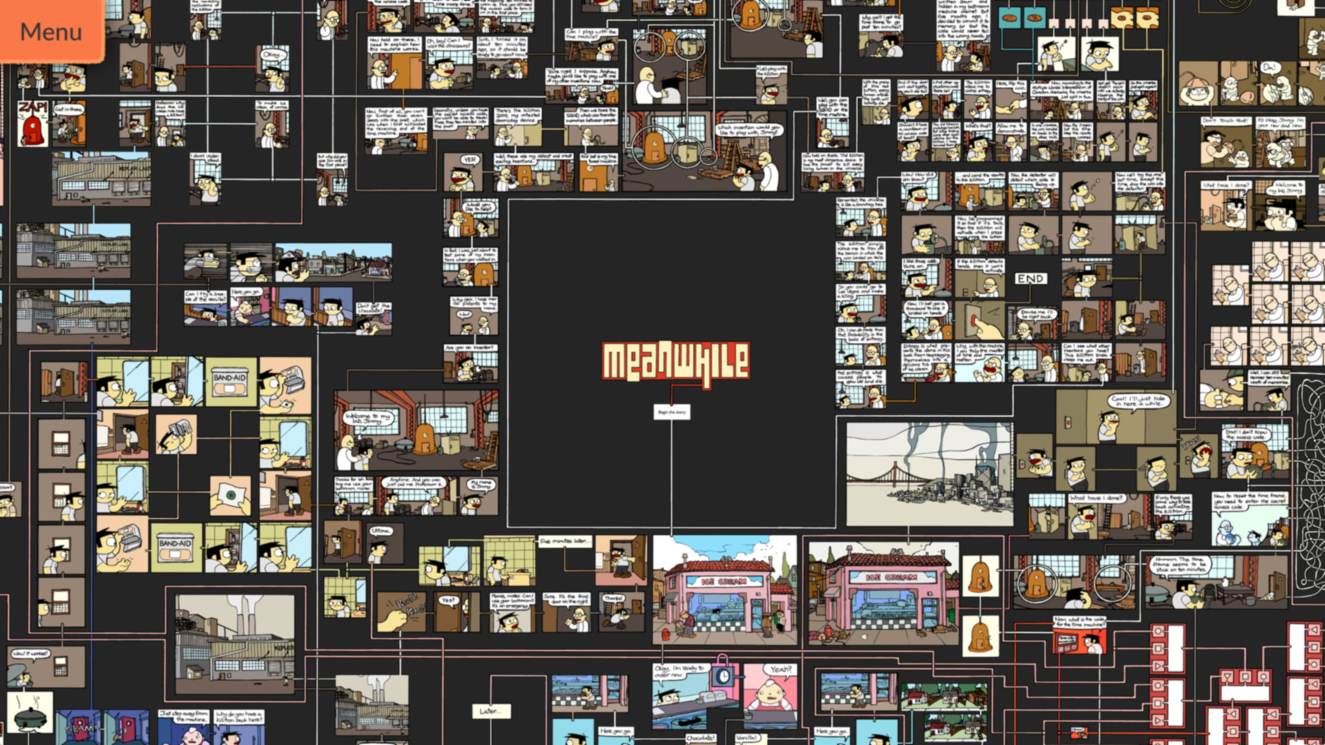 Meanwhile: An Interactive Comic Book for PC screenshot