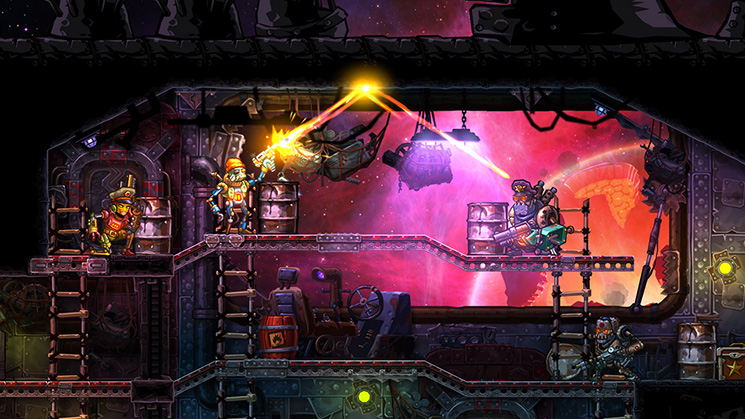 SteamWorld Heist: Ultimate Edition for Switch screenshot