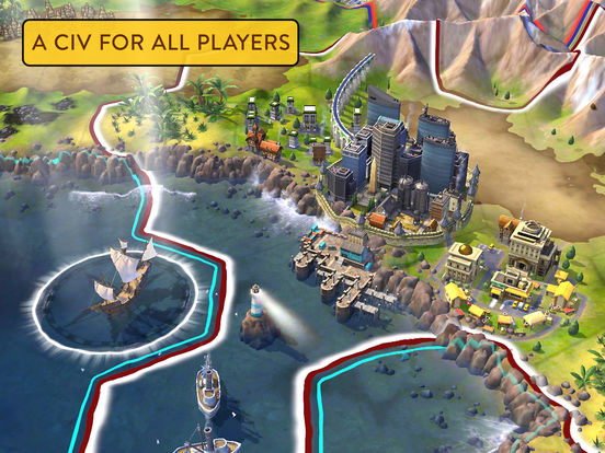 Sid Meier's Civilization VI for iOS screenshot