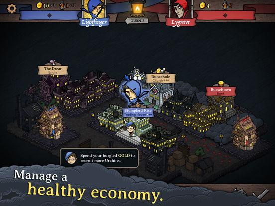Antihero - Digital Board Game for iOS screenshot