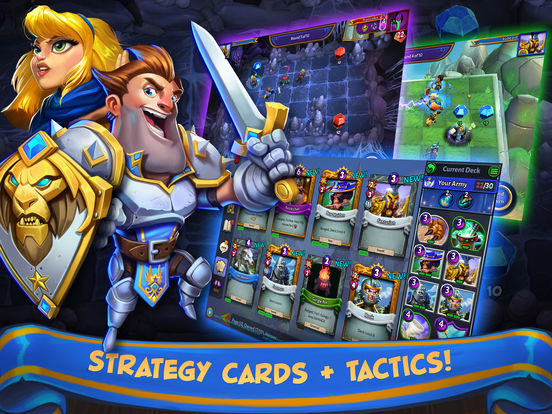 Hero Academy 2 for iOS screenshot
