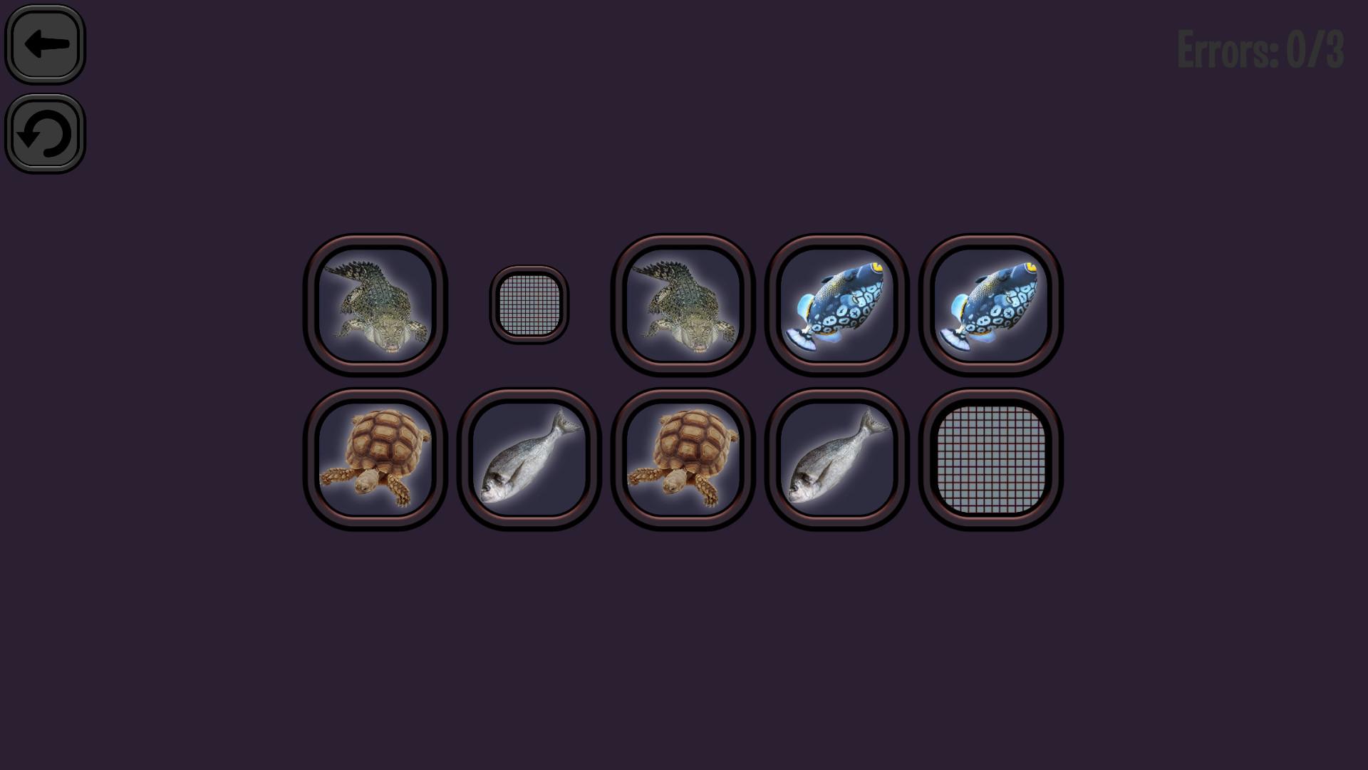 Animals Memory: Underwater Kingdom for PC screenshot