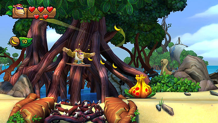 Donkey Kong Country: Tropical Freeze for Switch screenshot