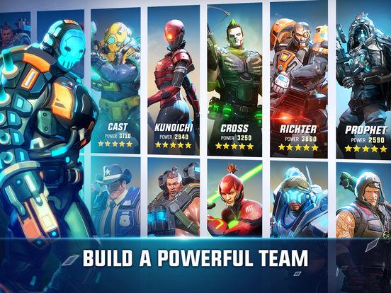 Hero Hunters for iOS screenshot