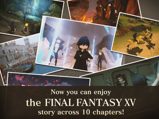 FINALFANTASY XV POCKET EDITION for iOS screenshot