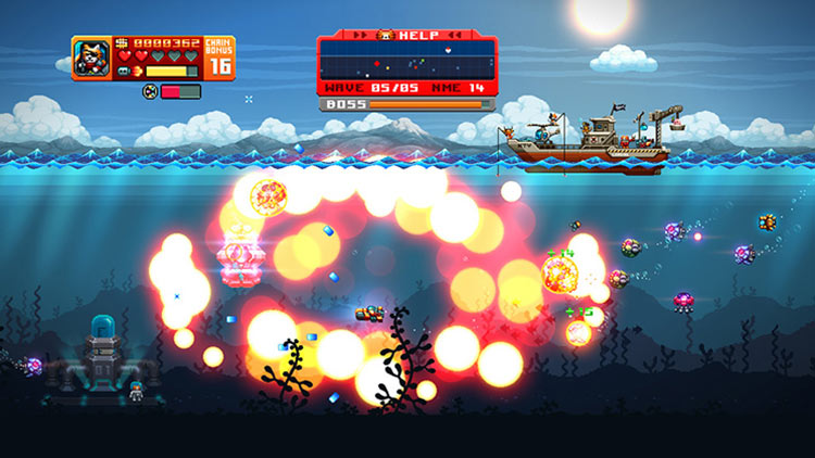 AQUA KITTY UDX for Switch screenshot