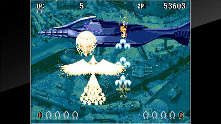 ACA NeoGeo: Aero Fighters 3 for Switch screenshot