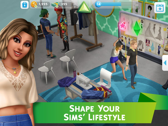 The Sims™ Mobile for iOS screenshot