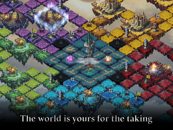 HEIR OF LIGHT for iOS screenshot