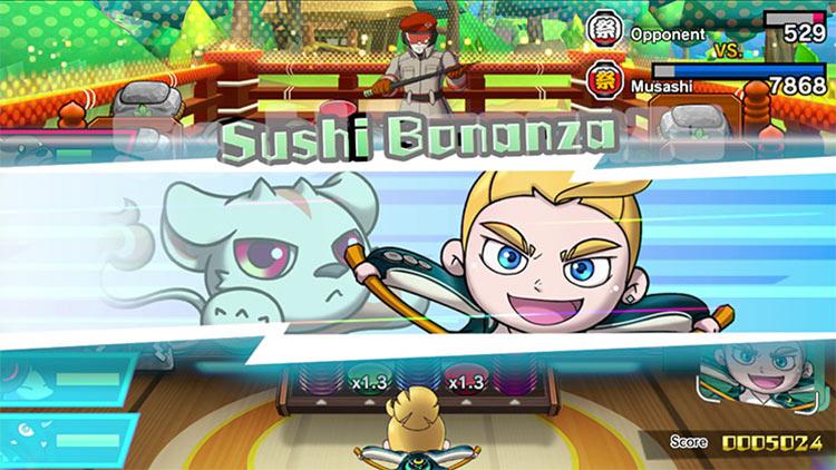 Sushi Striker: The Way of Sushido for Switch screenshot