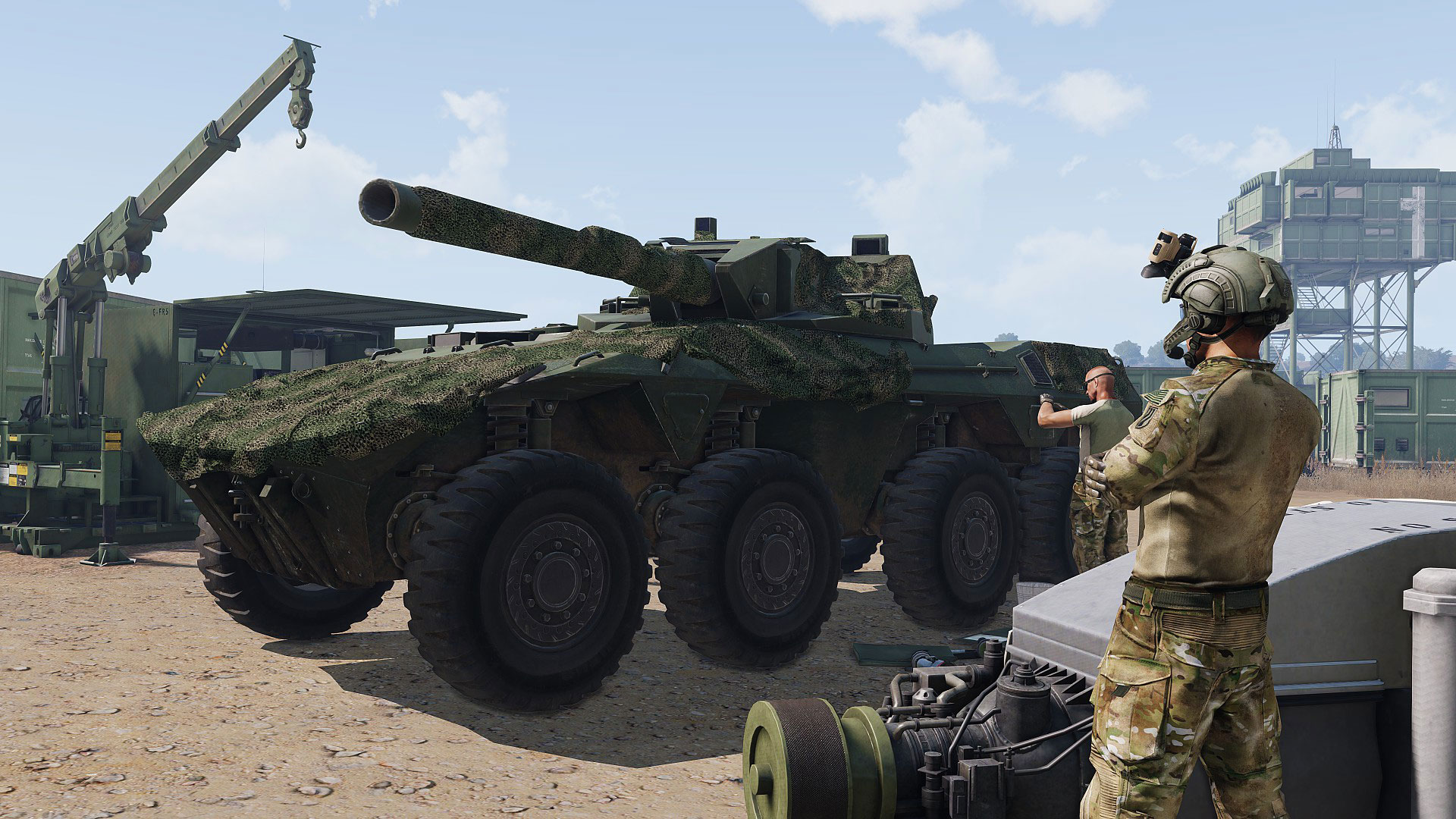 Arma 3 Tanks for PC screenshot