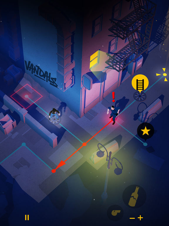 Vandals for iOS screenshot