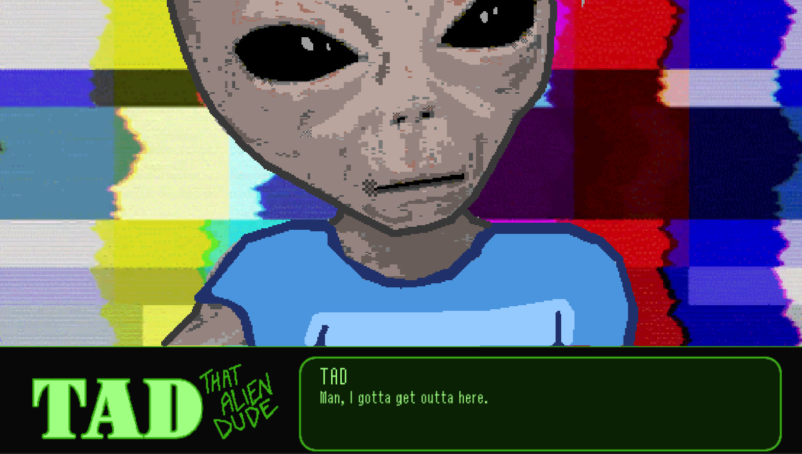 TAD: That Alien Dude for PC screenshot