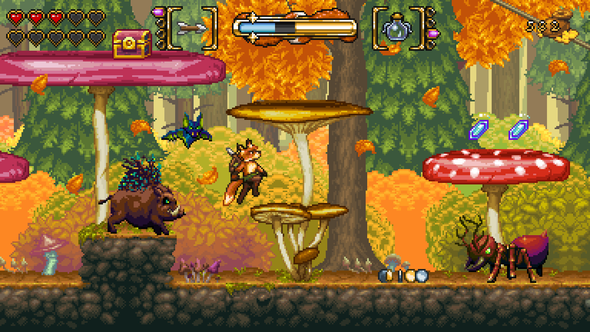 FOX n FORESTS for Switch screenshot