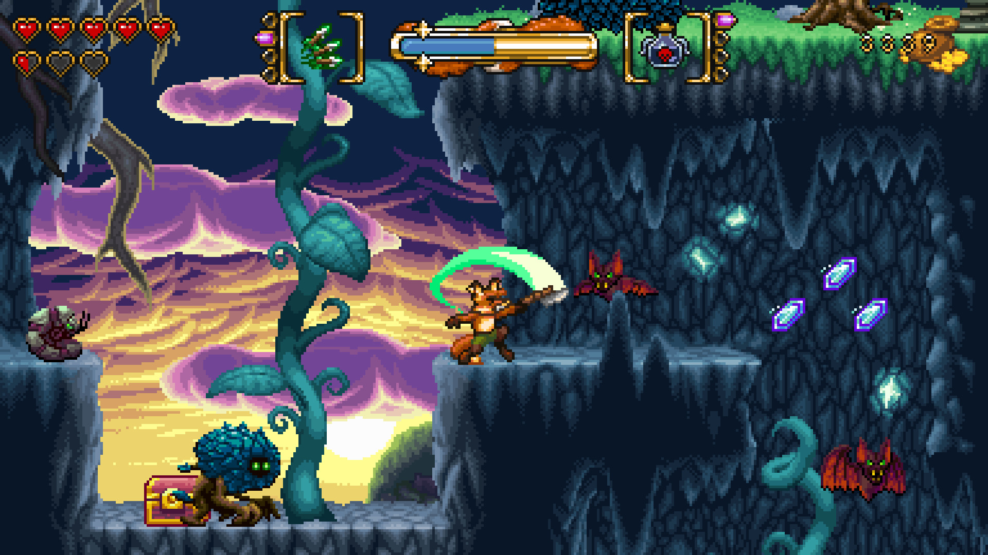 FOX n FORESTS for PS4 screenshot