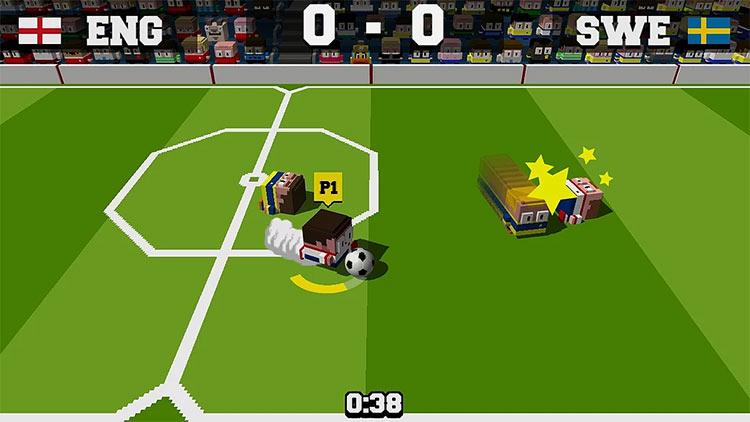 Soccer Slammers for Switch screenshot