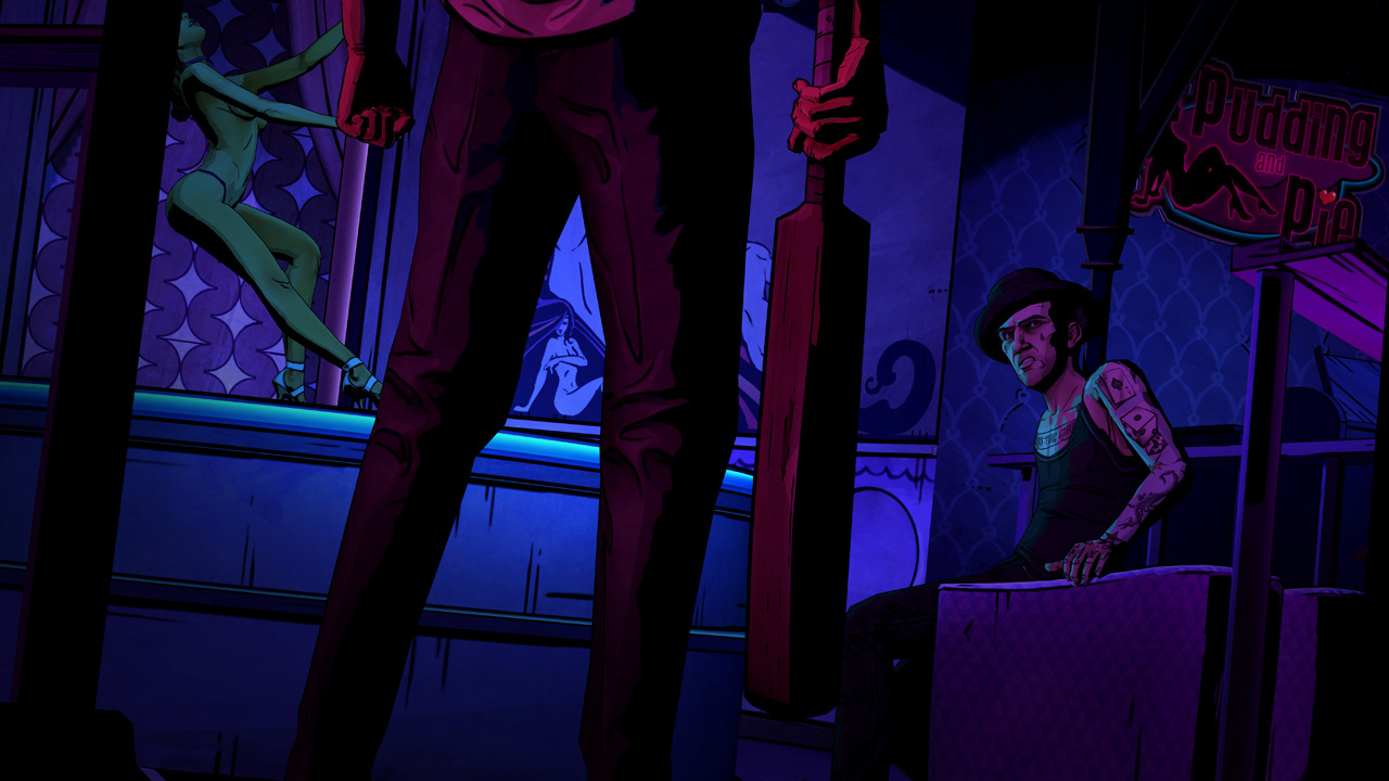 The Wolf Among Us for PS3 screenshot