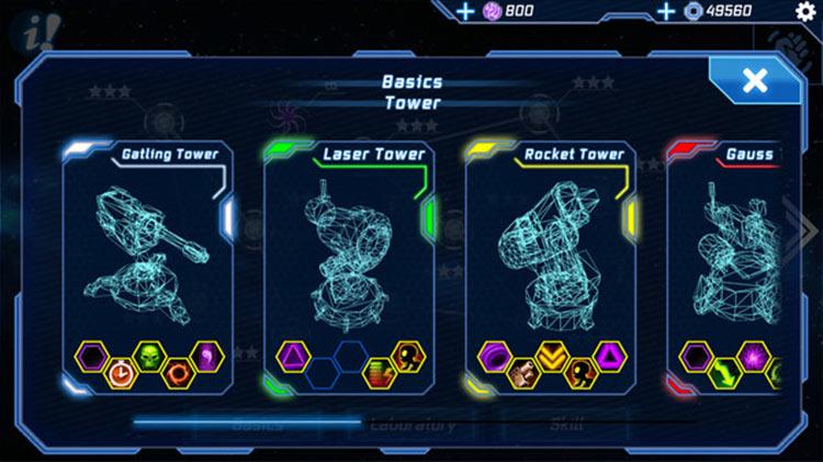 Module TD. Sci-Fi Tower Defense for PC screenshot
