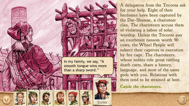 Six Ages: Ride Like the Wind for iOS screenshot