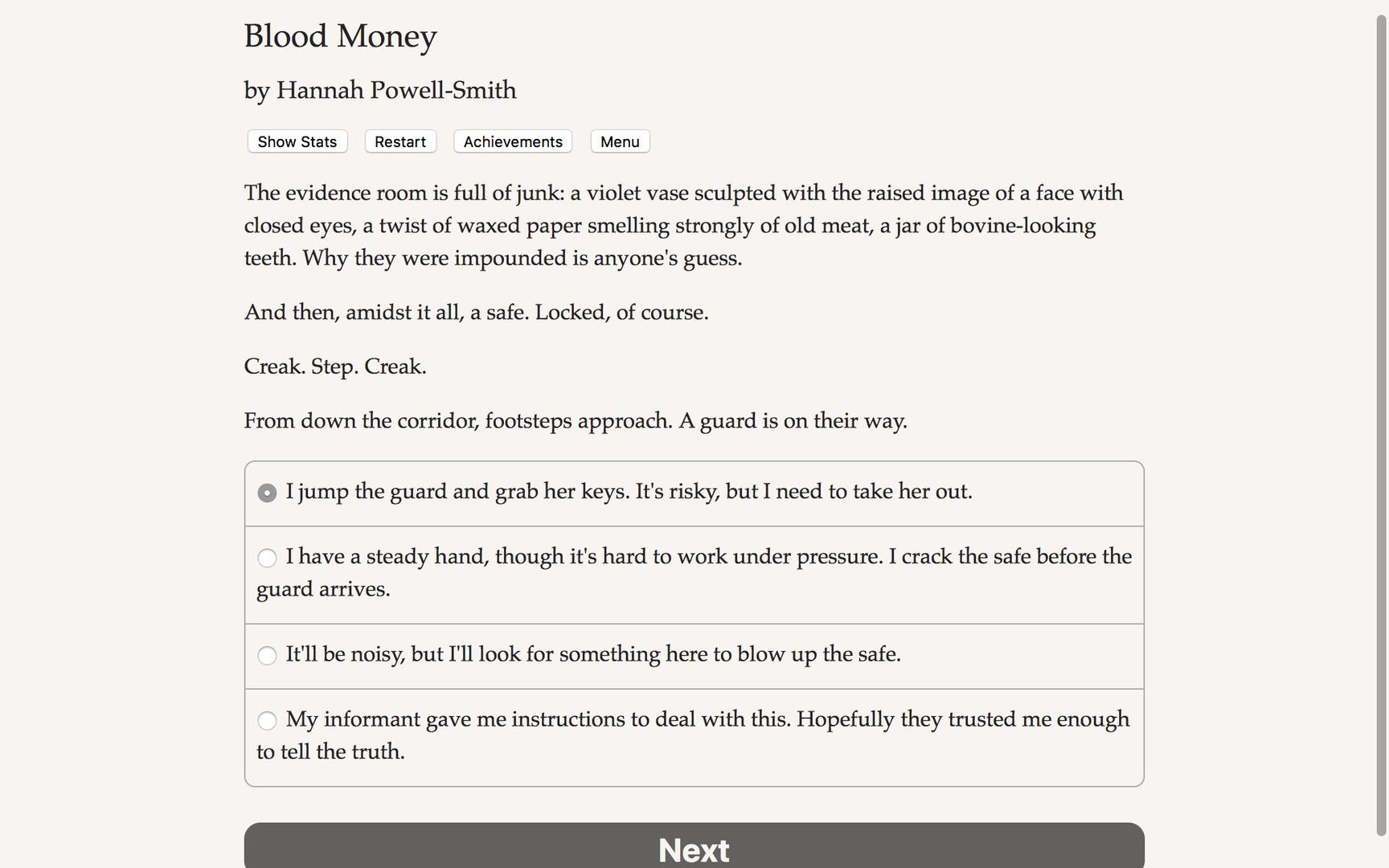 Blood Money for PC screenshot