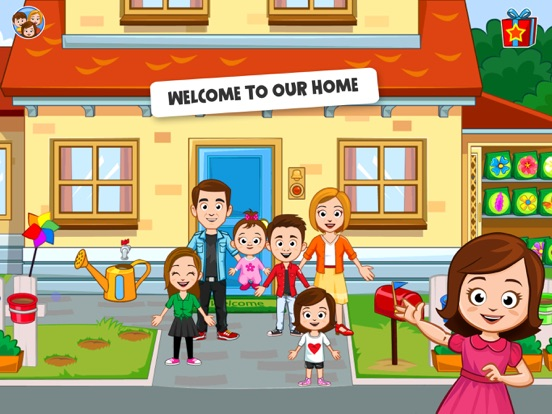 my town home dollhouse new kids play house game for android game reviews my town home dollhouse new kids play