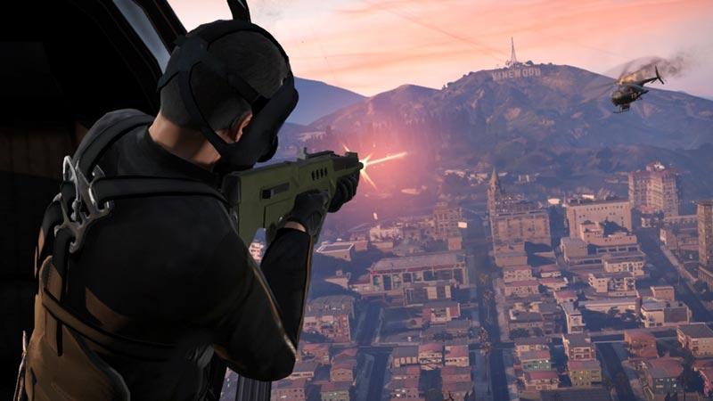 Grand Theft Auto V for PS3 screenshot