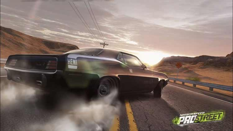Need For Speed ProStreet PS3 Screenshot