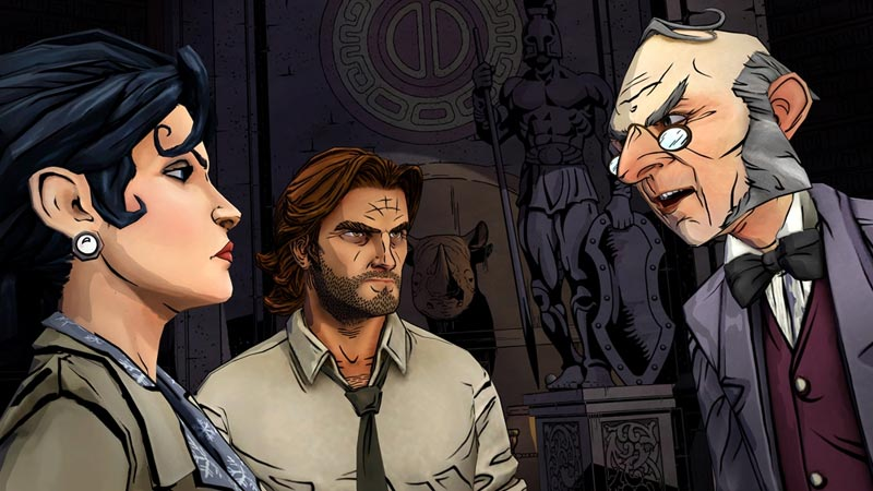 The Wolf Among Us: Episode 1 - Faith for PS3 screenshot